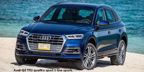 Audi Q5 45TFSI quattro sport S line sports - Image credit: © 2020 duoporta. Generic Image shown.