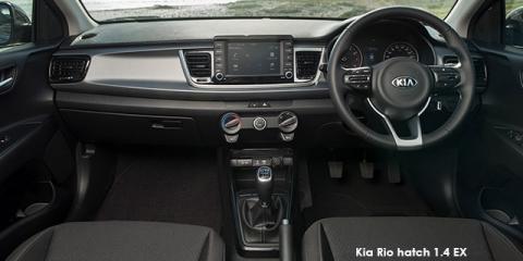 Kia Rio hatch 1.4 EX auto - Image credit: © 2019 duoporta. Generic Image shown.