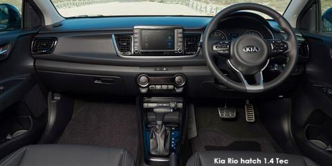 Kia Rio hatch 1.4 Tec auto - Image credit: © 2019 duoporta. Generic Image shown.