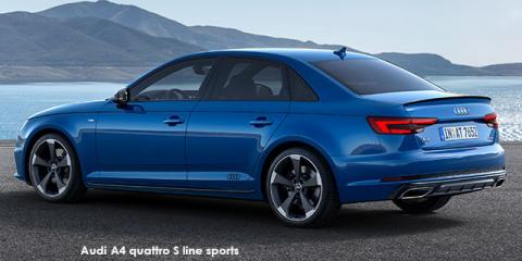 Audi A4 35TFSI sport S line sports - Image credit: © 2018 duoporta. Generic Image shown.