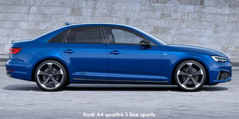 Audi A4 40TFSI sport S line sports - Image credit: © 2020 duoporta. Generic Image shown.