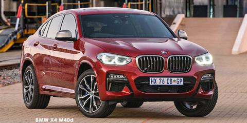 BMW X4 M40d - Image credit: © 2019 duoporta. Generic Image shown.