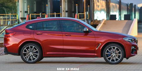 BMW X4 M40d - Image credit: © 2021 duoporta. Generic Image shown.