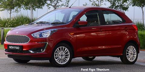 Ford Figo hatch 1.5 Titanium - Image credit: © 2020 duoporta. Generic Image shown.