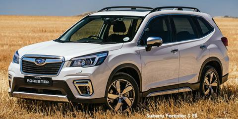 Subaru Forester 2.0i-S ES - Image credit: © 2020 duoporta. Generic Image shown.
