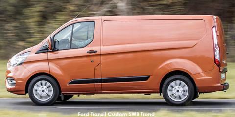 Ford Transit Custom panel van 2.2TDCi 74kW LWB Ambiente - Image credit: © 2019 duoporta. Generic Image shown.