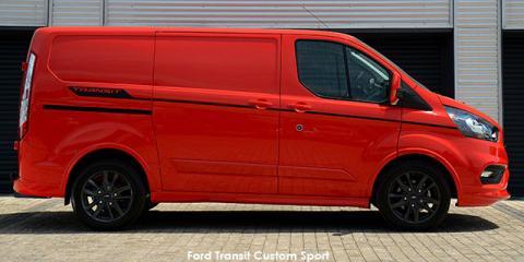 Ford Transit Custom panel van 2.2TDCi SWB Sport - Image credit: © 2019 duoporta. Generic Image shown.