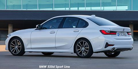 BMW 320d - Image credit: © 2019 duoporta. Generic Image shown.