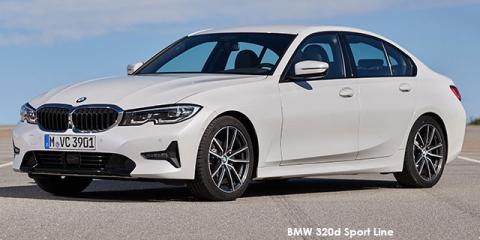 BMW 320d Sport Line Launch Edition - Image credit: © 2019 duoporta. Generic Image shown.