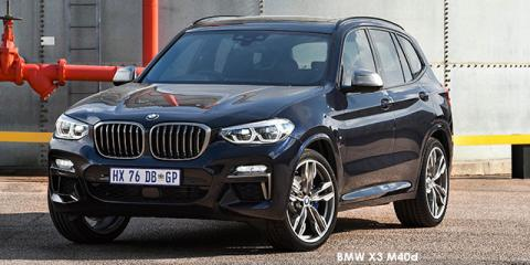 BMW X3 M40d - Image credit: © 2019 duoporta. Generic Image shown.