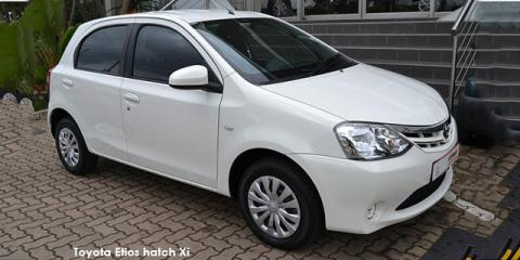 Toyota Etios hatch 1.5 Xi - Image credit: © 2020 duoporta. Generic Image shown.