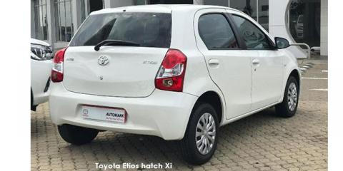 Toyota Etios hatch 1.5 Xi - Image credit: © 2019 duoporta. Generic Image shown.