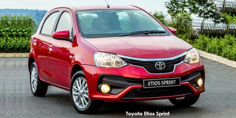Toyota Etios hatch 1.5 Sprint - Image credit: © 2019 duoporta. Generic Image shown.