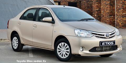 Toyota Etios sedan 1.5 Xi - Image credit: © 2020 duoporta. Generic Image shown.