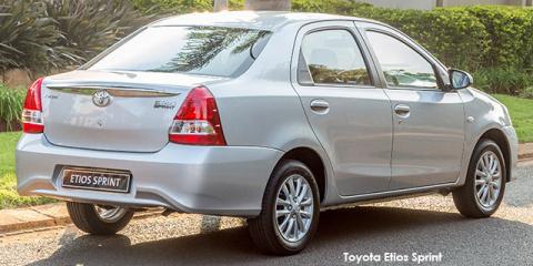 Toyota Etios sedan 1.5 Sprint - Image credit: © 2020 duoporta. Generic Image shown.