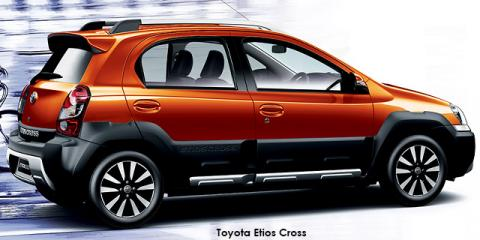 Toyota Etios Cross 1.5 Xs - Image credit: © 2019 duoporta. Generic Image shown.