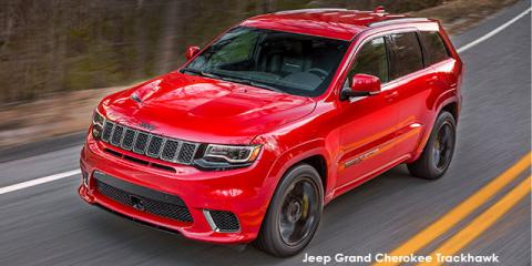 Jeep Grand Cherokee Trackhawk - Image credit: © 2019 duoporta. Generic Image shown.