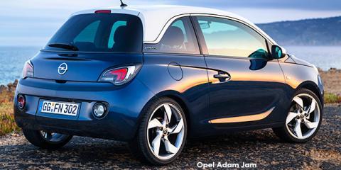 Opel Adam 1.0T Jam - Image credit: © 2020 duoporta. Generic Image shown.