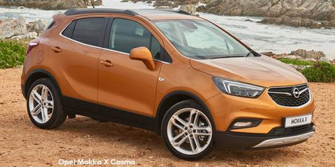 Opel Mokka X 1.4 Turbo Cosmo auto - Image credit: © 2019 duoporta. Generic Image shown.