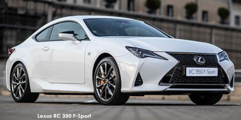 Lexus RC 350 F-Sport - Image credit: © 2019 duoporta. Generic Image shown.