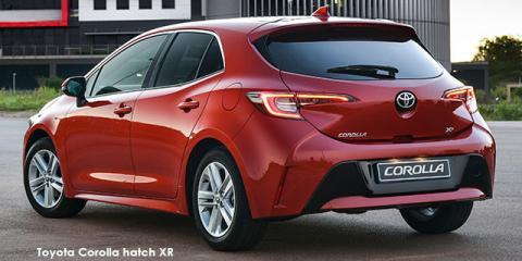 Toyota Corolla hatch 1.2T XS auto - Image credit: © 2019 duoporta. Generic Image shown.