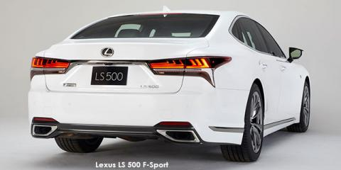 Lexus LS 500 F-Sport - Image credit: © 2019 duoporta. Generic Image shown.