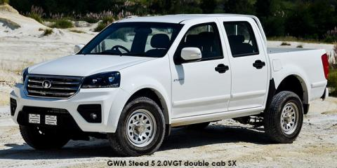 GWM Steed 5 2.0VGT double cab 4x4 SX - Image credit: © 2020 duoporta. Generic Image shown.