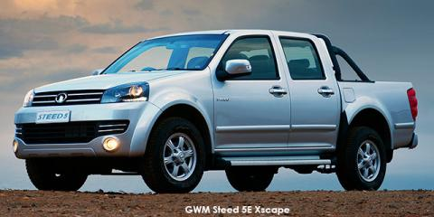 GWM Steed 5E 2.4 double cab Xscape - Image credit: © 2021 duoporta. Generic Image shown.