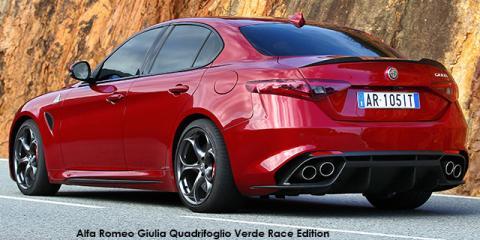 Alfa Romeo Giulia Quadrifoglio Race Edition II - Image credit: © 2019 duoporta. Generic Image shown.