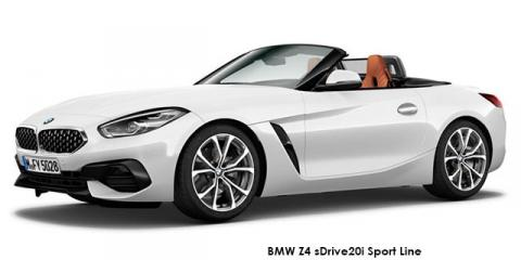 BMW Z4 sDrive20i Sport Line - Image credit: © 2020 duoporta. Generic Image shown.