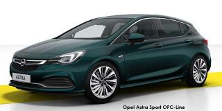 Opel Astra - Image credit: © 2020 duoporta. Generic Image shown.