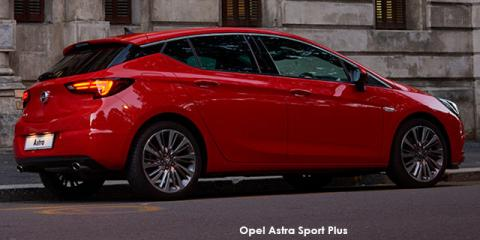 Opel Astra hatch 1.6T Sport auto - Image credit: © 2019 duoporta. Generic Image shown.