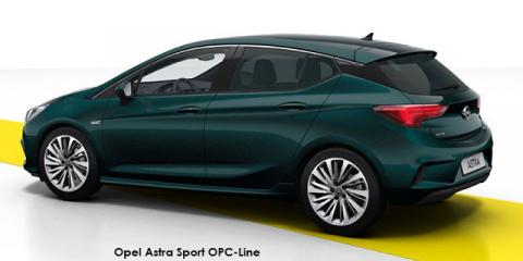 Opel Astra hatch 1.6T Sport OPC-Line - Image credit: © 2019 duoporta. Generic Image shown.