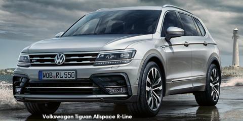 Volkswagen Tiguan Allspace 1.4TSI Comfortline R-Line - Image credit: © 2019 duoporta. Generic Image shown.