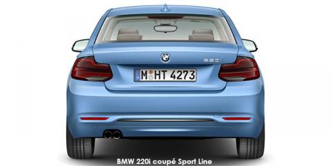BMW 220i coupe Sport Line sports-auto - Image credit: © 2019 duoporta. Generic Image shown.