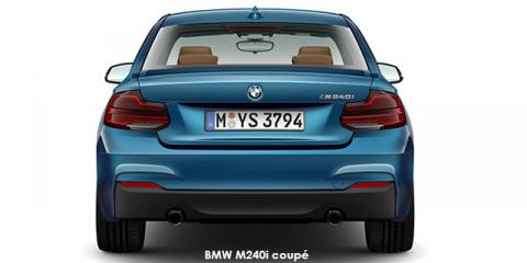 BMW M240i coupe sports-auto - Image credit: © 2019 duoporta. Generic Image shown.