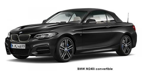 BMW M240i convertible sports-auto - Image credit: © 2020 duoporta. Generic Image shown.