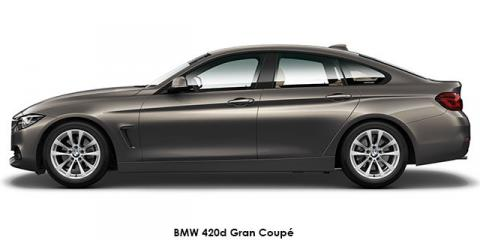 BMW 420d Gran Coupe sports-auto - Image credit: © 2020 duoporta. Generic Image shown.