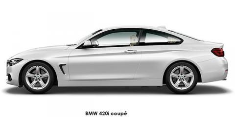BMW 420i coupe sports-auto - Image credit: © 2020 duoporta. Generic Image shown.