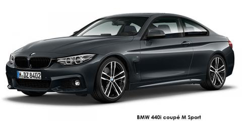 BMW 440i coupe M Sport - Image credit: © 2019 duoporta. Generic Image shown.