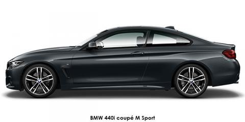 BMW 440i coupe M Sport - Image credit: © 2020 duoporta. Generic Image shown.