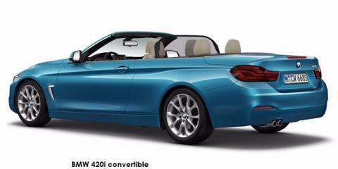BMW 420i convertible sports-auto - Image credit: © 2020 duoporta. Generic Image shown.