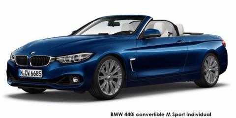 BMW 420i convertible M Sport sports-auto - Image credit: © 2019 duoporta. Generic Image shown.