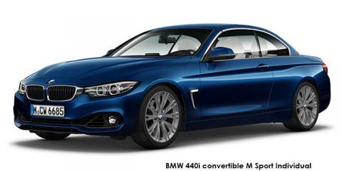 BMW 420i convertible M Sport sports-auto - Image credit: © 2020 duoporta. Generic Image shown.