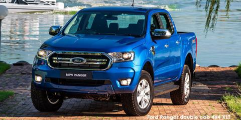 Ford Ranger 2.0Turbo double cab Hi-Rider XLT - Image credit: © 2020 duoporta. Generic Image shown.