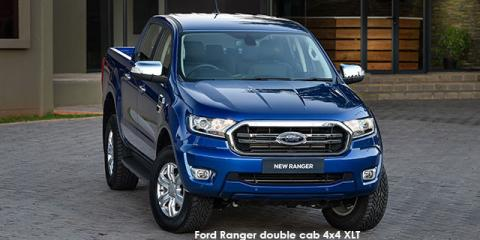 Ford Ranger 3.2TDCi double cab 4x4 XLT auto - Image credit: © 2020 duoporta. Generic Image shown.