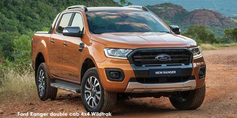 Ford Ranger 2.0Bi-Turbo double cab 4x4 Wildtrak auto - Image credit: © 2019 duoporta. Generic Image shown.