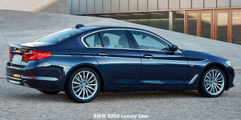BMW 530d Luxury Line - Image credit: © 2019 duoporta. Generic Image shown.