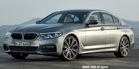 BMW 540i M Sport - Image credit: © 2019 duoporta. Generic Image shown.
