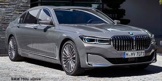 BMW 7 Series - Image credit: © 2021 duoporta. Generic Image shown.